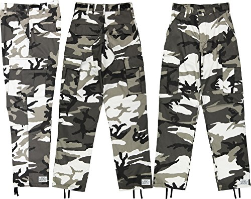 Urban City Camouflage Poly/Cotton M…
