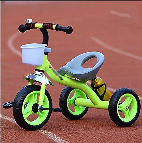 Kinderpedal-Dreirad-einfaches helles Jungen-mädchen-Baby-fürauto-fürrad 2 - 5 Jahre alte H te ( Farbe   Grün )