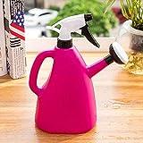 Turbobm Regaderas de 1L, Regadera de jardinería Regadera de Botella de Agua Grande prensada a Mano Regaderas de jardinería doméstica, Regadera