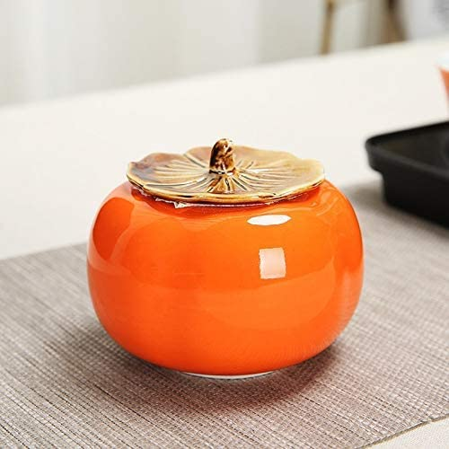 Colorado Springs Mall XYSQWZ Award Kitchen Diningshape Persimmon Creative Box Porcelai Tea