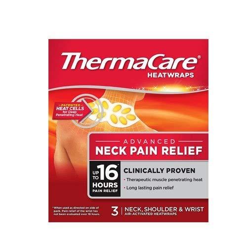 ThermaCare Flexible Anwendung Wärmeauflagen – Schmerzlindernde Wärmepads bei Muskelschmerzen & Verspannungen – Für Nacken, Schulter, Rücken oder Lenden – 3 Stück pro Packung