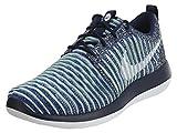 Nike - Sportswearroshe Two Flyknit - Zapatillas - College Navy/White/Binary Blue/Vapor Green/Paramount Blue
