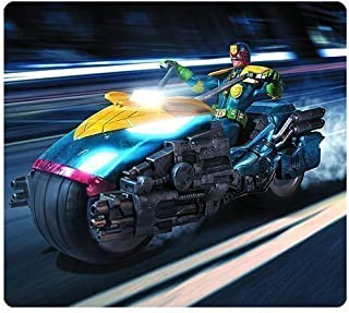 Judge Dredd 1:12 Scale Action Figure with Lawmaster Motorcycle - Previews Exclusive