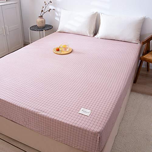 Xiaomizi Lujoso cojín inferior y dobladillo elástico que se adapta a tu cama hipoalergénica de 120 x 200 cm