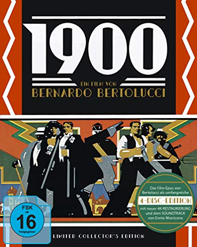 1900 - Limited Collectors Edition (3 Blu-rays + 1 Soundtrack-CD)