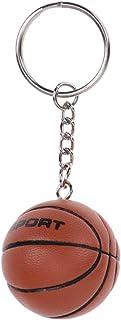 Amosfun, portachiavi da basket creativo a forma di palla sportiva, per la scuola o il carnevale, ornamento (superficie cer...