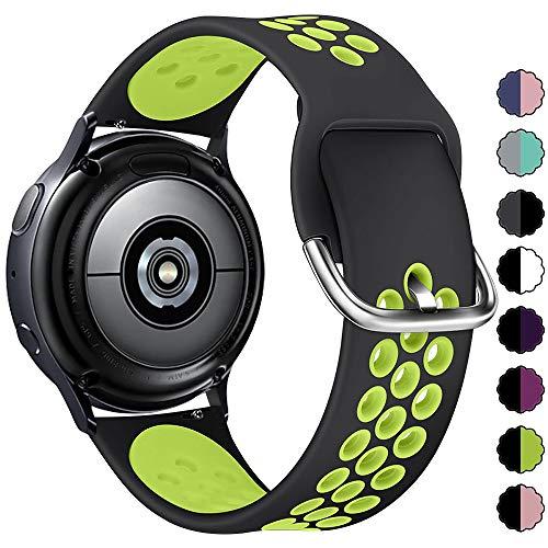 KIMILAR Cinturino Compatibile con Samsung Galaxy Watch Active 2 / Active/Galaxy Watch 42mm, Compatibile con Garmin Vivoactive 3 / Vivomove HR Sport, Compatibile con Huawei Watch GT 2 / Watch 2