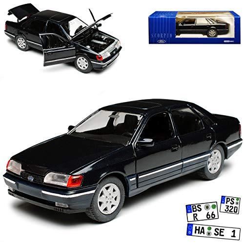 Schabak Ford Scorpio Limousine Dunkel Grün Fast Schwarz 1. Generation 1985-1994 1/24 1/25 Modell Auto