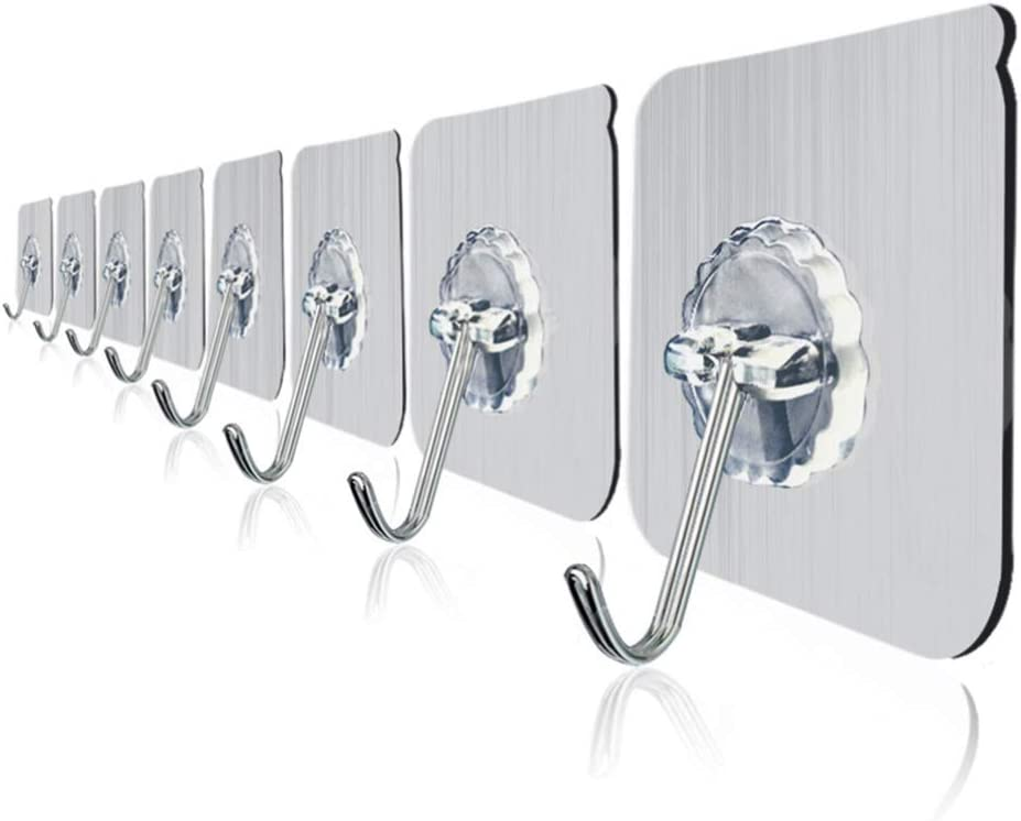 WINOMO 10pcs Adhesive Wall Hooks All items in the store Seamless Sticky online shopping