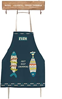 dfhfdsh Tabliers de cuisine Solar System Bib Apron for Women Men Waterproof Chef Apron with Front Pocket for Kitchen Cooking Craft Baking