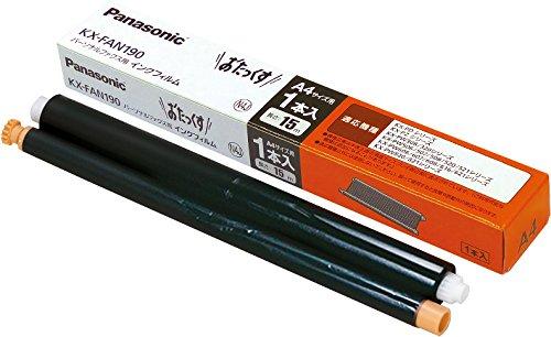パナソニック FAX用インク KX-FAN190 インクフィルム15m