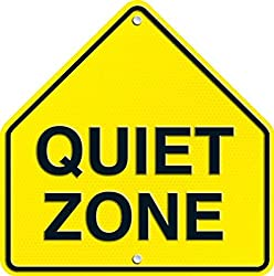Carson Dellosa Quiet Zone Two-Sided Decoration