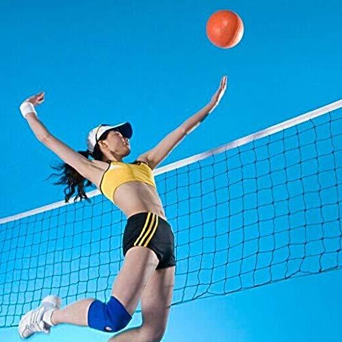 Red de badminton portátil, red de voleibol para deportes de interior y playa al aire libre, red de tenis, 6,1 x 0,9 m, plegable, fácil de montar, fácil de transportar, altura ajustable