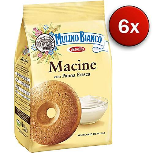 6x Mulino Bianco Galletas macine 700g Italia Biscuits Cookies tartas Brioches