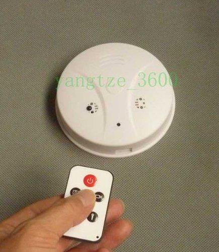 16GB Smoke Detector Hidden Spy Camera DVR with motion detection