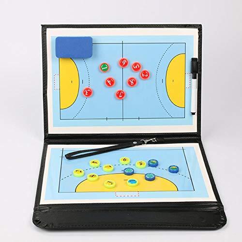 BEOOK Plegable Balonmano Táctico Magnético Entrenador Tablero Jugador Competición Entrenamiento Reescribible Suministros De Entrenador A