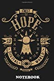 Notebook: Crest Of Hope , Journal for Writing, College Ruled Size 6' x 9', 110 Pages