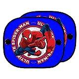 ABC PARTS Spiderman SPID101 Cortinillas Coche Ventosas