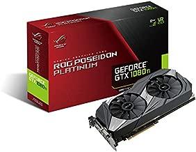 ASUS ROG Poseidon GeForce GTX 1080 TI 11GB Platinum Edition DP HDMI DVI Gaming Graphics Card (ROG-POSEIDON-GTX1080TI-P11G-GAMING)