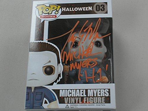 TONY MORAN Signed Michael Myers Funko Pop Figure Halloween Autograph JSA COA
