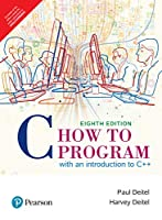 C How To Program: With An Introduction To C++, 8 Th Edition [Paperback] Paul Deitel And Harvey Deitel
