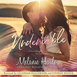 Undeniable                   By:                                                                                                                                 Melanie Harlow                               Narrated by:                                                                                                                                 Savannah Peachwood,                                                                                        Stephen Dexter                      Length: 7 hrs and 52 mins     6 ratings     Overall 4.3