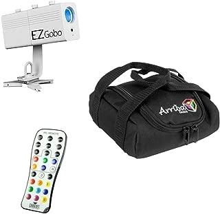 Chauvet DJ Lighting EZ Gobo Battery Powered LED Image Projector & Travel Bag New