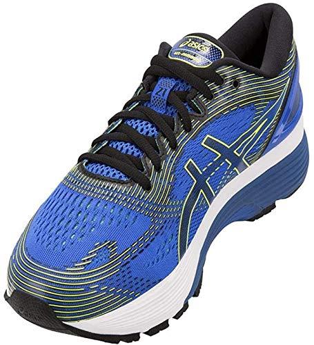 Asics Gel-Nimbus 21, Zapatillas de Running Hombre, Azul (Illusion Blue/Black 400), 43.5 EU