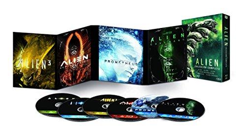 Pack Alien 1-6 Blu-Ray [Blu-ray]