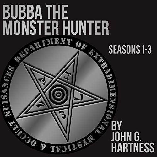 Bubba the Monster Hunter: Books 1-3 audiobook cover art