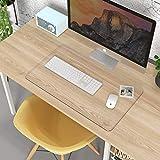 Oterri Schreibtischunterlage Transparent,4Pcs Klare Klebepads Doppelseitig,Durchsichtige Schreibunterlage,Rutschfest,Geruchsneutral,abwischbar Tischdecke für Büro/Zuhause(Transparent/60 * 35cm)