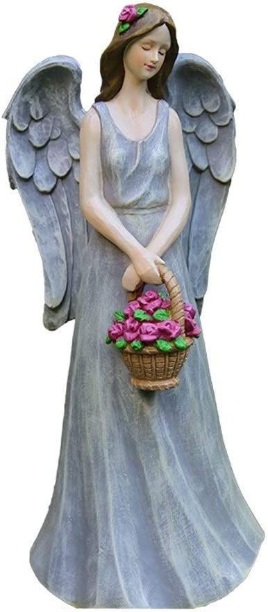 gift Outdoor Statues AO Surprise price Flower Fairy Angel Decoration Figure Resin S