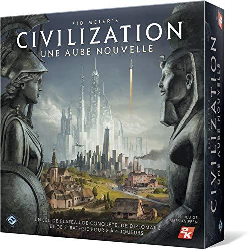 Sid Meiers Civilization : Une Aube Nouvelle - Asmodee - Jeu