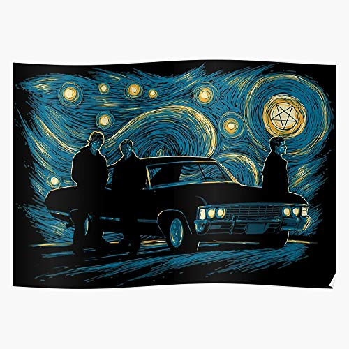 VQNTHINH Poster Supernatural Night I S Poster for Home Decor Wall Art Print Poster