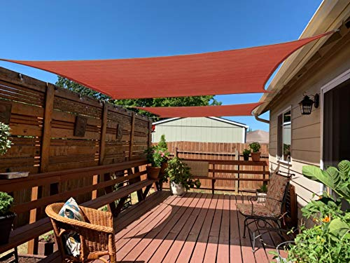 HENG FENG Toldo rectangular de 10 x 13 pulgadas, para patio, terraza, patio y exterior