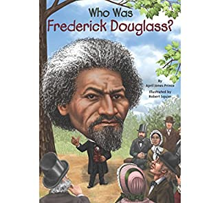 Who Was Frederick Douglass? audiobook cover art