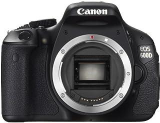 Canon EOS 600D SLR Digitalkamera (18 MP, 7,6cm (3 Zoll) schwenkbares Display, Full HD) Gehäuse