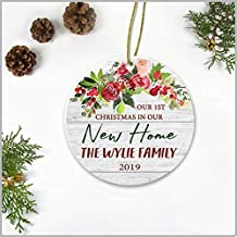 Ideas Gift at First Christmas for Married Couple Our 1st Christmas in Our New Home The Wylie Family 2019 Wedding Present Hatfield Christmas Tree Decorations 3