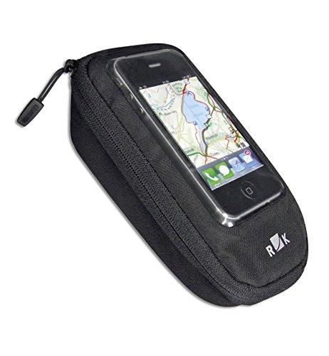 KLICKfix fietstas Phone Bag Plus zwart mobiele telefoon pocket One Size