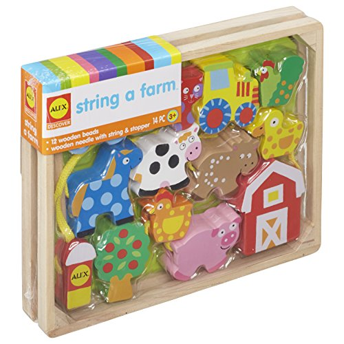 ALEX toys string a farm activity set