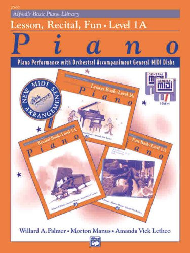Alfred's Basic Piano Course: GM for Lesson, Recital & Fun Books, Level 1a ( (Alfred's Basic Piano Library)