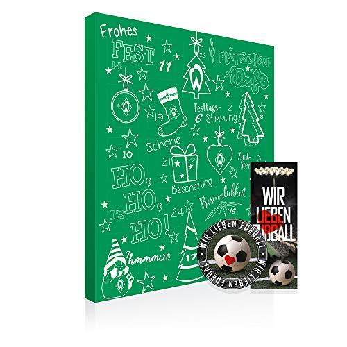 Riegelein Adventskalender Werder Bremen, 1er Pack (1 x 120 g)