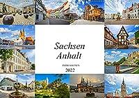 Sachsen Anhalt Impressionen (Wandkalender 2022 DIN A2 quer): Eine einmalig wunderschoene Bilderreise durch Sachsen Anhalt (Monatskalender, 14 Seiten )