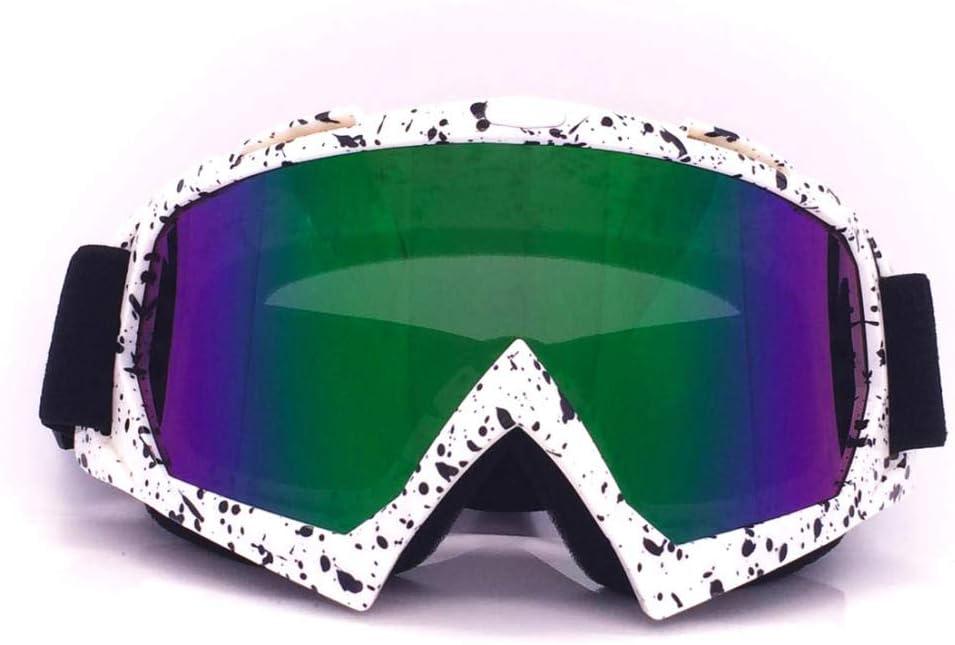 SlimpleStudio Gafas a Prueba de Viento para Deportes de Invierno,Gafas de esquí Gafas Casco Montar Gafas al Aire Libre Montar Equipo de esquí de montañismo
