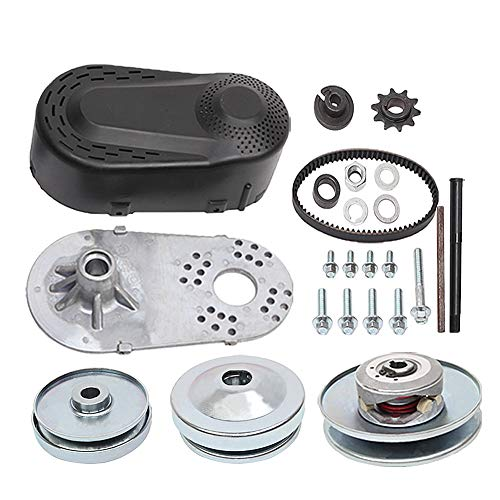 "MOOSUN 30 Series 6.5 HP Go Kart Mini Bike Torque Converter Clutch Driver Pulley Replacement Comet Manco 212CC 3/4"" Bore 10T #40/41/420 China (Complete 3/4"" Torque Converter Set)"