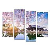 Bild Bilder auf Leinwand Gyeongbokgung Palast mit