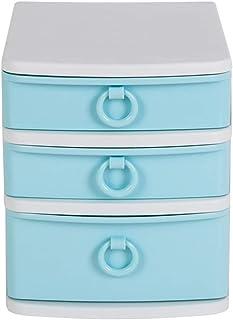 Yqqcf Type de tiroir Armoire de Rangement de Bureau PP Plastique A4 Format Papier Livre Classeur Trieuse de Documents Boît...