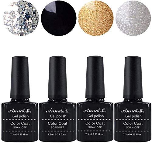 Allenbelle Smalto Semipermanente Nail Polish UV LED Gel Unghie (Kit di...