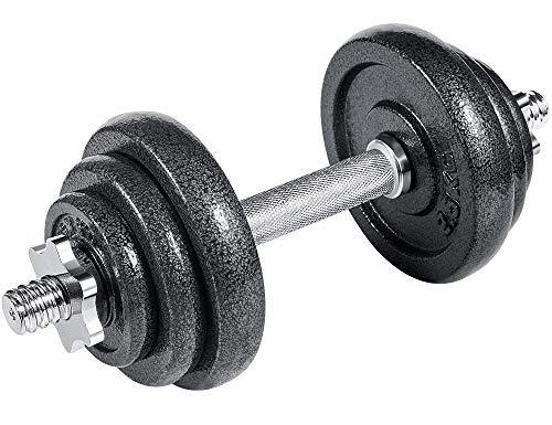 arteesol Hantel, Gusseisen Kurzhanteln Hantel Gewichte hantel Hantelset 10kg 15kg 20kg 30kg für Professionelle Fitness-Leute (10kg-Single)