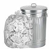 Tstorage 120 L Sacos Basura Bolsas de Basura de Plástico Transparente, 33 Galones, 70 Unidades